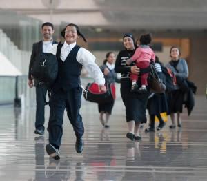 Freude bei der Ankunft in Israel (Foto: Jewish Agency)