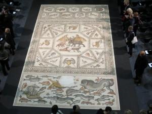 Das Lod-Mosaik (Foto: Botschaft)