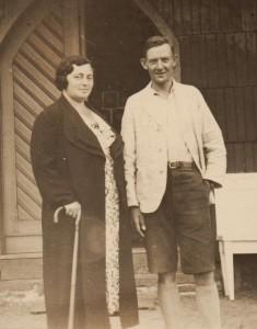 Theo und Beate Kranz im Jahr 1941 (Foto: Walter Frankenstein)