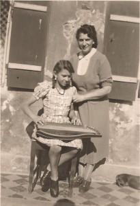 Elfriede Seitz und Maria Rauch jun., 1944