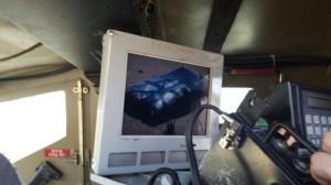Bild der Rohrbombe, die der Terrorist am Körper trug (Foto: IDF Spokesperson)