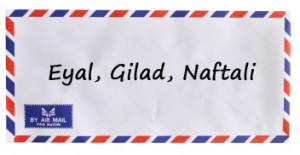 Umschlag: Airmail Stock Photo