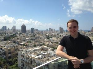 Über Tel Aviv (Foto: Florian Simmendinger)