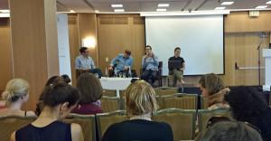 Die Journalistenkonferenz in Tel Aviv