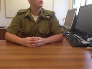 Bild eines IDF-Offiziers (Foto: IDF)