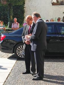 Botschafter Hadas-Handelsman und Ministerpräsident Haseloff