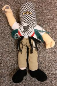 Im Artikel erwähnte palästinensische Puppe