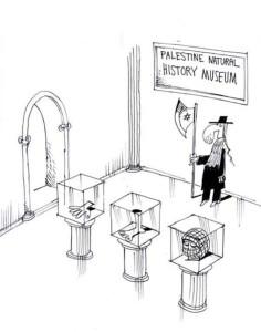 Cartoon des vergangenen Holocaust-Karikaturen-Wettbewerbs